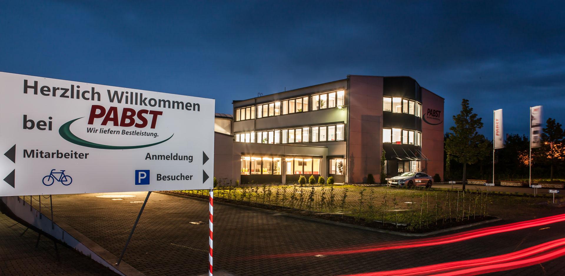 Zentrale von Pabst Transporte in Gochsheim