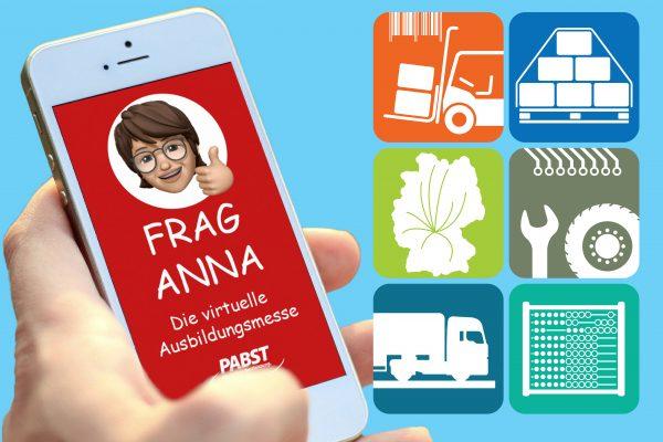 Frag Anna - die virtuelle Ausbildungsmesse